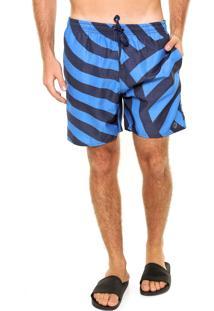 Bermuda Água Fiveblu Wavy Azul