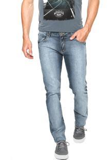Calça Jeans Forum Igor Simples Azul