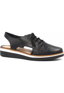 b60d122488 Sapato Oxford Vazado feminino