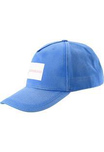 Bone Ckj Masc Tricolor - Azul Royal - U