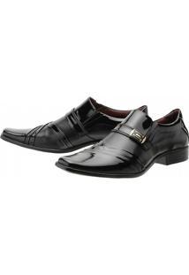 Sapato Social Gofer Verniz - Masculino
