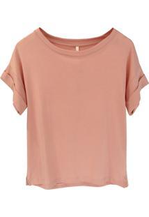 Camiseta Tea Shirt Bella Blush