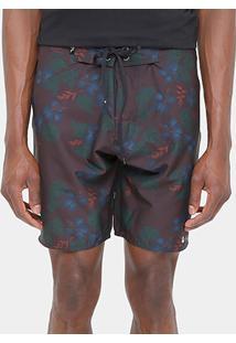 Bermuda D'Água Foxton Floral Escuro - Masculino