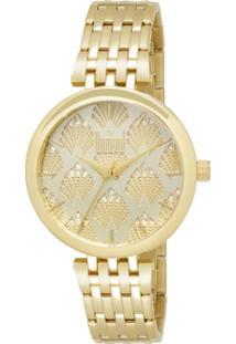 470642bf0a5 Relógio Digital Dourado Dumont feminino