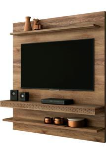 Painel Home Suspenso Para Tv Atã© 55 Polegadas Sala De Estar Web New Canela - Frade Movelaria - Marrom - Dafiti