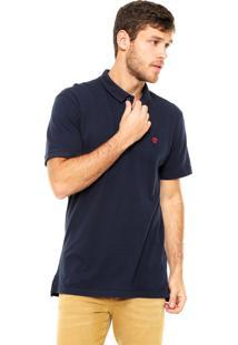Camisa Polo Timberland Slim Azul