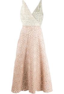Harris Wharf London Vestido Com Estampa Floral - Rosa