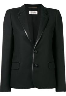Saint Laurent Classic Tailored Jacket - Preto