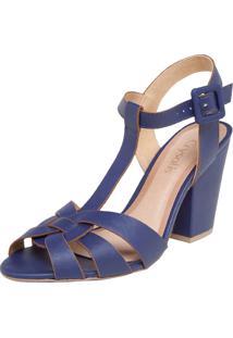 Sandália Crysalis Salomé Azul