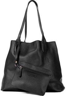 Bolsa Shoestock Shopper Textura Feminina - Feminino