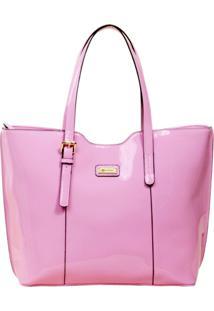 Bolsa Vallarta Shopper - Feminino-Rosa