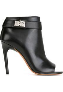 Givenchy Ankle Boot Modelo 'Shark Lock' - Preto