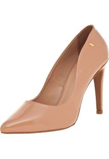 Scarpin Polo London Club Bico Fino Nude