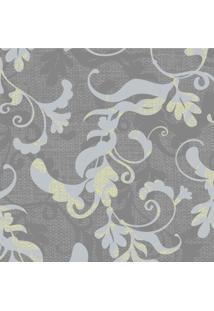 Papel De Parede Stickdecor Adesivo Floral Galhos Cinza 3Mt A 1,00Mt L