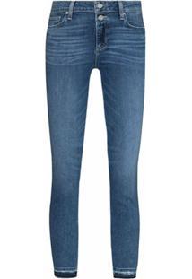 Paige Laila Cropped Jeans - Azul