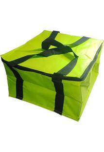 Bolsa Térmica Lancheira Fitness 12 Litros Verde - Kanui