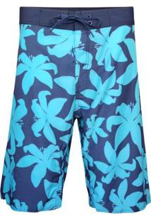Boardshort Flower Masculino - Masculino