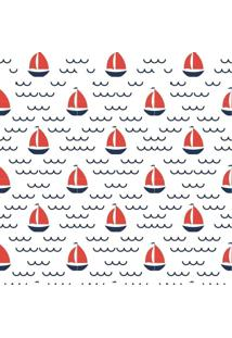 Papel De Parede Adesivo Barcos (0,58M X 2,50M)