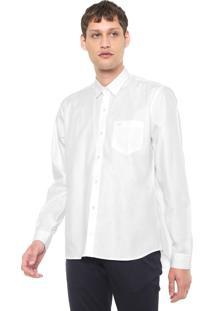 Camisa Lacoste Regular Fit City Branca