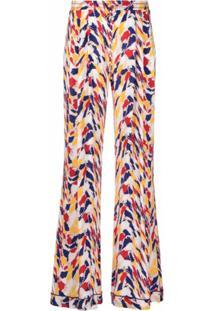 Missoni Calça Pantalona Com Estampa Abstrata - Neutro