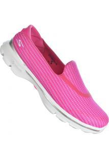 68808aa22e4df Atitude Esportes. Calçado Tênis Feminino Rosa Skechers Amor Go ...