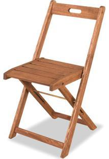Cadeira Dobravel Economica Stain Cor Jatoba - 34557 - Sun House