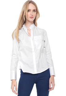 Camisa Calvin Klein Bolso Branca