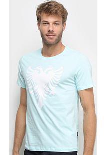 Camiseta Cavalera Águia Masculina - Masculino-Verde