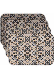 Jogo Americano Love Decor Geometric Old Kit Com 6 Peças