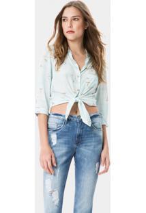 Calça Skinny Bali Franjas Barra Jeans - Lez A Lez
