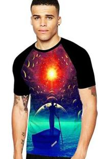 Camiseta Stompy Raglan Modelo 02 Masculina - Masculino