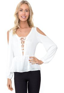 Camisa Lucy In The Sky Amarracao Off-White