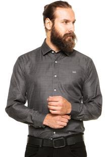 Camisa Mr. Kitsch Poá Preta