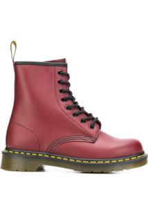 Dr. Martens 1460 Ankle Boots - Vermelho