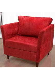 Poltrona Savana – Hellen - Vermelho