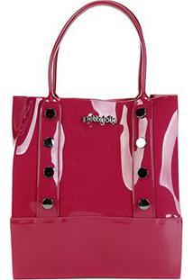 Bolsa Petite Jolie Shopper Bag Feminina - Feminino-Pink