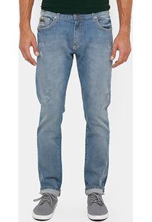 Calça Jeans Skinny Forum Pau Ind Bord Masculina - Masculino