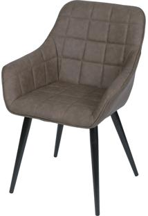 Cadeira Dana Com Braço Gila - Café