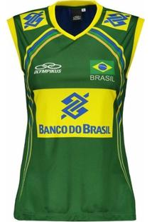ae779d4d39b2a Netshoes. Regata Olympikus Brasil Vôlei Cbv 2014 ...