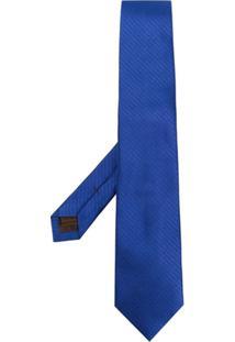 Church'S Gravata De Seda - Azul