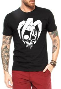 Camiseta Criativa Urbana Jester Caveira - Masculino