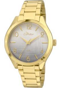 a8e9fdc8e46 ... Relógio Condor Feminino Ritmo Envolvente Co2035Krs 4C - Co2035Krs 4C -  Feminino-Dourado