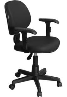 Cadeira De Escritório Ce-01Bpbt Executiva Giratória Preta - Pethiflex