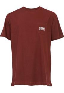Camiseta Blunt Institucio Vinho