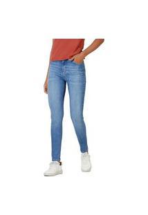 Calça Hering Jeans Sculpted Super Skinny Azul