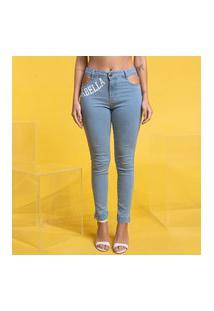 Calça Jeans Recortes Calça Jeans Recortes 22521 - 38