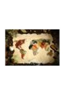 Painel Adesivo De Parede - Temperos - Cozinha - Mapa Mundi - 1704Pnp