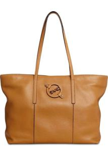 Bolsa Saad Shopper Floater Caramelo