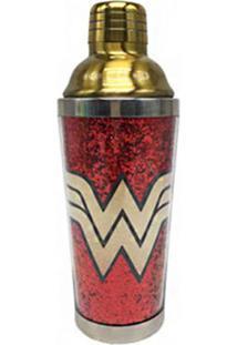 Coqueteleira Em Inox - 500 Ml - Dc Comics - Wonder Woman - Urban