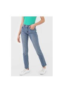 Calça Jeans Gap Skinny Desgastes Azul